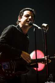 Luis A. Segura, cantante y guitarrista de L.A., BIME festival, Barakaldo. 2015