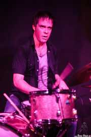 Andy Jody, baterista de Barrence Whitfield & The Savages, Kafe Antzokia, Bilbao. 2015
