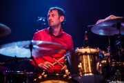 Chris Common, baterista de Le Butcherettes, Kafe Antzokia, Bilbao. 2015