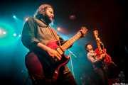 Jon Bonilla -guitarra- y Mike Montali -voz y guitarra- de Hollis Brown, Kafe Antzokia, Bilbao. 2015