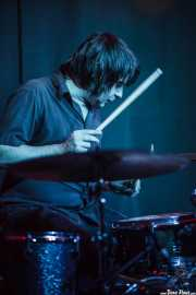 Jesús España, baterista de Los Tupper (Kafe Antzokia, Bilbao)