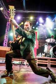 Keith Warwick -guitarra- y Michael Goodwin -batería- de The New Piccadillys (Purple Weekend Festival, León)