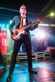 Mark Ferrie, bajista de The New Piccadillys (Purple Weekend Festival, León)