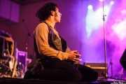 Manuel Pablo McNamara, armonicista y percusionista de Les Grys-Grys (Purple Weekend Festival, León)
