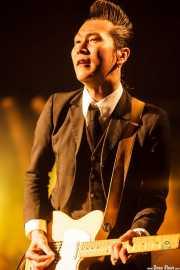 "Takashi Manabe ""Mr. Pan"", cantante y guitarrista de The Neatbeats (Purple Weekend Festival, León)"