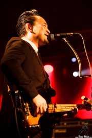 "Dai Ura ""Mr. Gully"", bajista y cantante de The Neatbeats (Purple Weekend Festival, León)"