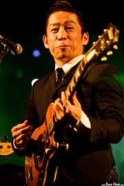 """Kazuya Tosa """"Mr. Lawdy"""", cantante y guitarrista de The Neatbeats (Purple Weekend Festival, León)"""