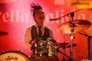 "Takumi Nakamura ""Mr. Mondo"", baterista de The Neatbeats (Purple Weekend Festival, León)"