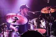 Tony Sevener, baterista de Kelley Stoltz (Purple Weekend Festival, León)