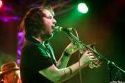 Kelley Stoltz -voz, guitarra, saxo- y Kevin Ink -bajo- (Purple Weekend Festival, León)