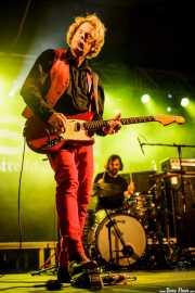 Marc Schoreder -guitarra- y Mike Kamoo -batería- de The Loons (Purple Weekend Festival, León)