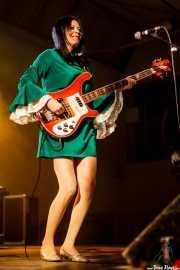 Anja Stax, bajista de The Loons (Purple Weekend Festival, León)
