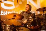 Mikey Post, baterista de The Jay Vons (Purple Weekend Festival, León)