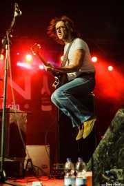 Louis Wiggett, bajista de Bronco Bullfrog (Purple Weekend Festival, León)
