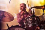 Andy Morten, baterista de Bronco Bullfrog (Purple Weekend Festival, León)