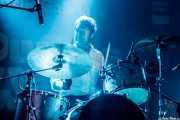 Mats Bigrell, baterista de The Flight Reaction (Purple Weekend Festival, León)