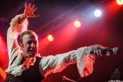 Sebastian Braun, teclista y cantante de The Flight Reaction (Purple Weekend Festival, León)