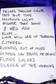 Setlist de The Flight Reaction (Purple Weekend Festival, León)