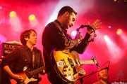 Benny Trokan bajo-, Mike Catanese -guitarra- y Mikey Post de Reigning Sound (Purple Weekend Festival, León, 2015)