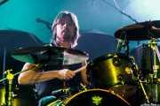 Pete Fleming, baterista de Slydigs (WOP Festival 2015, Bilbao, 2015)