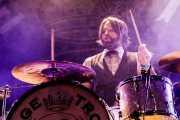 Richard Danielson, baterista de Vintage Trouble (WOP Festival 2015, Bilbao, 2015)