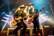 Nalle Colt -guitarra- y Rick Barrio Dill -bajo- de Vintage Trouble (WOP Festival 2015, Bilbao, 2015)