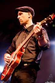 Estanis, bajista de The Travessy Band (Mockers Day 2015, Santana 27, Bilbao, 2015)