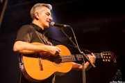 Santiago Delgado, cantante y guitarrista de Santiago Delgado y los Runaway Lovers (Santana 27, Bilbao, 2015)