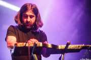 Daniel Merino, lap steel guitar de Dead Bronco (Santana 27, Bilbao, 2015)