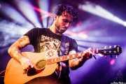 Matt Horan, guitarrista y cantante de Dead Bronco (Santana 27, Bilbao, 2015)