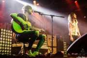 Chris McCabe -guitarra- y Craig McCabe -voz- de The River 68's (Santana 27, Bilbao, 2016)