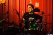 Ion Stagliano, baterista de Discípulos de Dionisos (Satélite T, Bilbao, 2016)