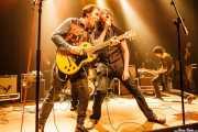 Joseba Irazoki -guitarra-, Dan Wilson -voz- y Rober! -guitarra- de Los Separatistas (Kafe Antzokia, Bilbao, 2016)