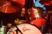 Tony Leone, baterista de Chris Robinson Brotherhood (Zentral, Iruña / Pamplona, 2016)