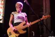 Letty Gallagher, bajista de Thee Jezebels (Hika Ateneo, Bilbao, 2016)