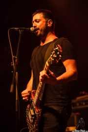Iván Barrio, guitarrista de La Hora del Primate (Kafe Antzokia, Bilbao, 2016)