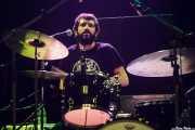 Maximiliano Resnicosky, baterista de The Bellrays (Kafe Antzokia, Bilbao, 2016)