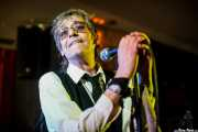 Barrie Masters, cantante de Eddie and the Hot Rods (Satélite T, Bilbao, 2016)