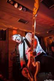 "Ian ""Dipster"" Dean, bajista de Eddie and the Hot Rods (Satélite T, Bilbao, 2016)"