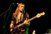Eddy Ray, cantante y bajista de The Golden Grahams (Bilborock, Bilbao, 2016)