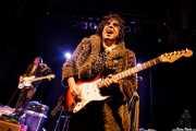 Eddy Ray -voz y bajo- y Brian Nonell -guitarra- de The Golden Grahams (Bilborock, Bilbao, 2016)