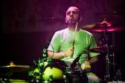 Dani, baterista de Moonshakers (Kafe Antzokia, Bilbao, 2016)