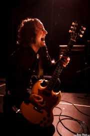 Juan Irazu, guitarrista de Bullet Proof Lovers (Intxaurrondo K.E., Donostia / San Sebastián, 2016)