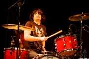 Victor Peñalosa, baterista de Flamin' Groovies (Intxaurrondo K.E., Donostia / San Sebastián, 2016)