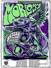 Cartel de The Morlocks por Mark Sgarbossa (popgroovy.com) (Satélite T, Bilbao, )