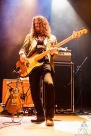 Tod Bowers, bajista de The Steepwater Band (Kafe Antzokia, Bilbao, 2016)