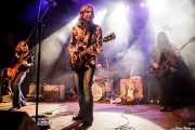 Eric Saylors -guitarra-, Jeff Massey -voz y guitarra-, Joe Winters -batería- y Tod Bowers -bajo- de The Steepwater Band (Kafe Antzokia, Bilbao, 2016)