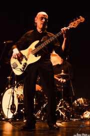 Norman Watt-Roy, bajista de Wilko Johnson Band (Teatro Victoria Eugenia Antzokia, Donostia / San Sebastián, 2016)