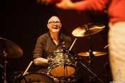 Greg Sowders, baterista de The Long Ryders (Social Antzokia, Basauri, 2016)