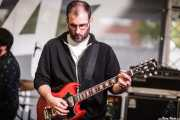 Álvaro Barrriuso, guitarrista de Larry Bird (Plaza Solobarria, Basauri, 2016)